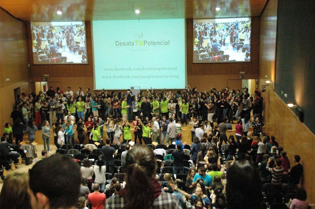 seminario revoluciona tu vida, desata tu potencial